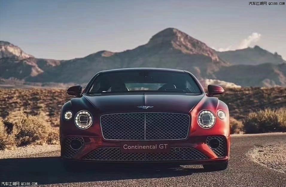 2020款宾利欧陆GT高贵双门跑车实拍评测