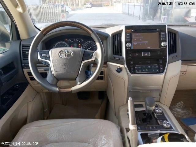 2020款丰田酷路泽4600 V8中东版现车报价