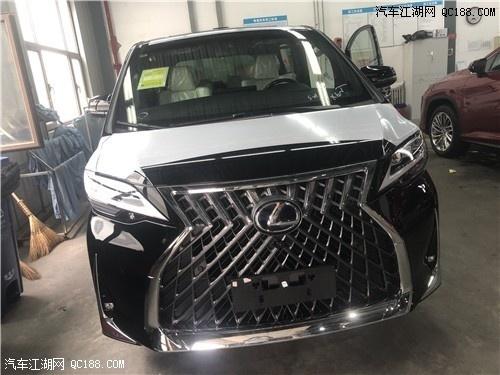 进口台湾版国六雷克萨斯LM300现车体验