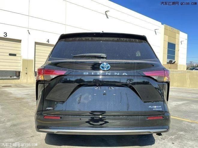 丰田塞纳2.5油电混合国6现车在售平行进口丰田系列
