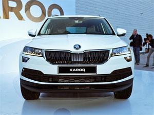实拍斯柯达旗下首款紧凑型SUV――KAROQ