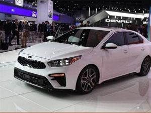 起亚K3的姊妹车型  实拍全新起亚Forte