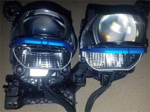 非常漂亮 博悦升级宝马7系激光透镜总成