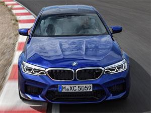 最快四门轿车 宝马全新一代M5正式上市