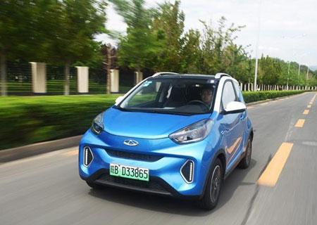 精品的电动微车 动态实测2019款奇瑞eQ1