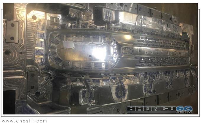福特Bronco格�沤M件和�艚M配件�D曝光