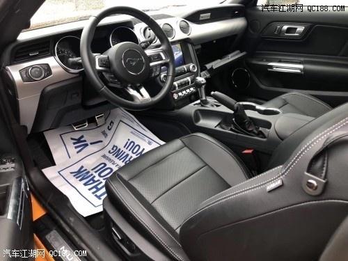 原装进口加版福特野马 豪华轿跑实拍