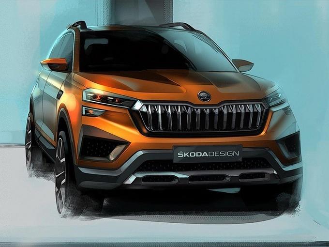 斯柯达全新紧凑SUV概念车Vision In亮相