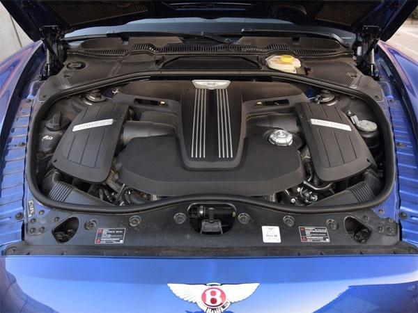 尊享复古奢华 18款宾利飞驰V8S实拍解读
