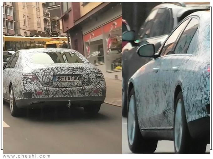 奔驰全新S级街拍谍照 预计年底正式发布