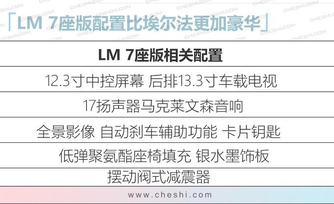 雷克萨斯LM预售开启日期推迟至1月15日