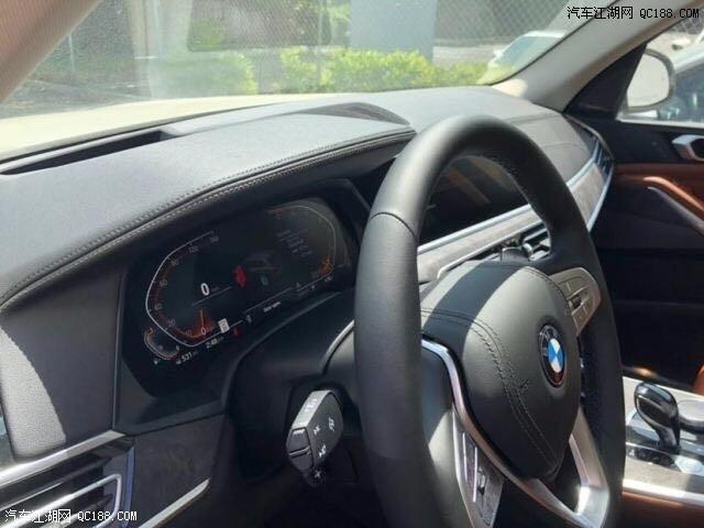 2019款宝马X7加版3.0T硬朗豪华车实拍