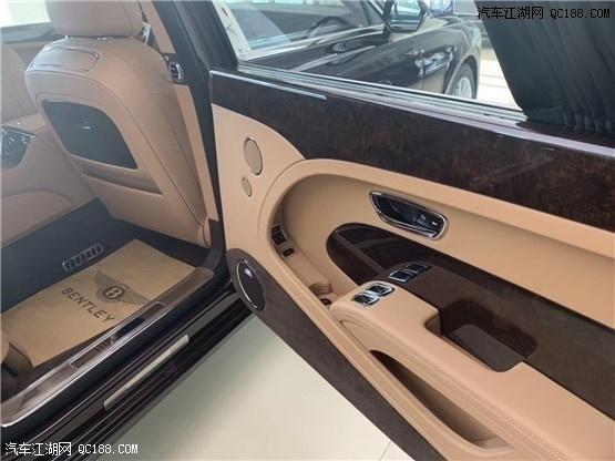 2020款宾利慕尚6.8T美规长轴版实拍评测