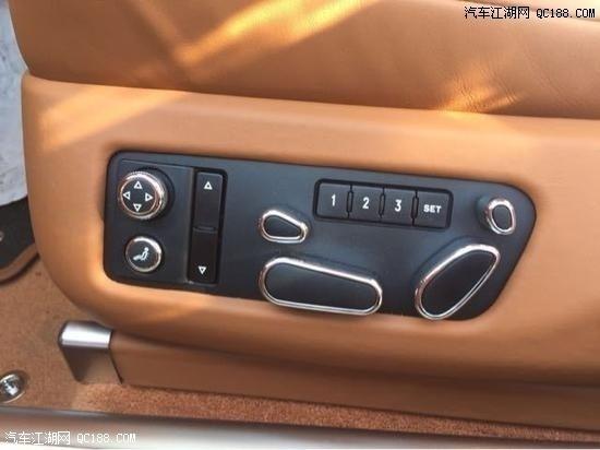 20款宾利飞驰6.0T现车配置参数报价解读