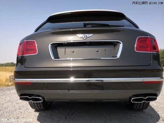 20款进口宾利添越4.0T V8动力实车解析