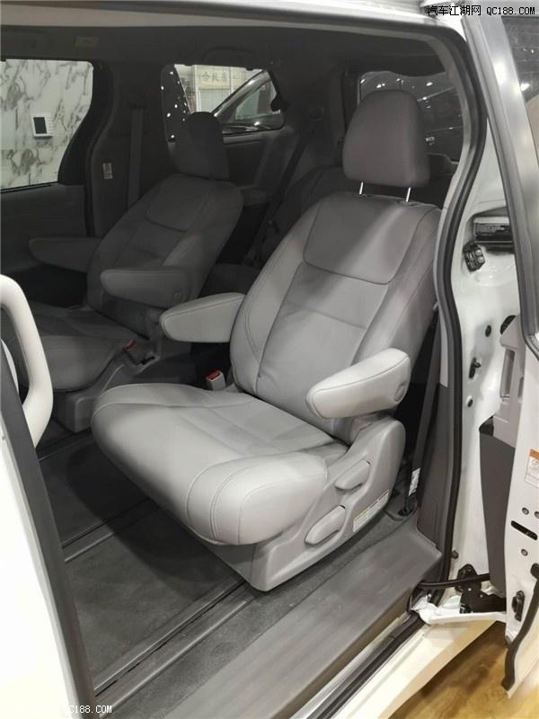 2020款丰田塞纳四驱加版配置及最新报价