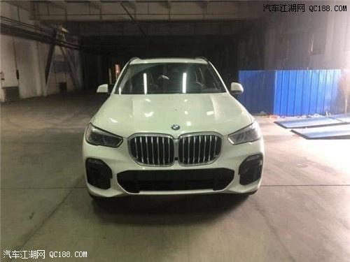 20款宝马X5现车到港 白色实车体验感受