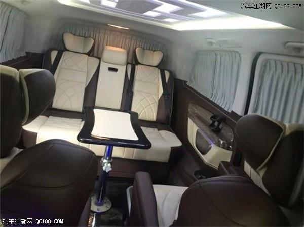 原装进口2019款奔驰Metris商务车体验