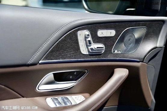 20款奔驰GLE450黑/咖加版现车实拍评测