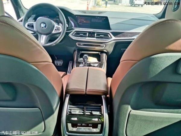 2020款宝马X7加版高配白色现车内外解读