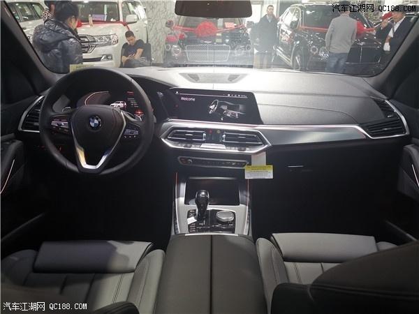 19款宝马X5豪华SUV天津港实车到店测评