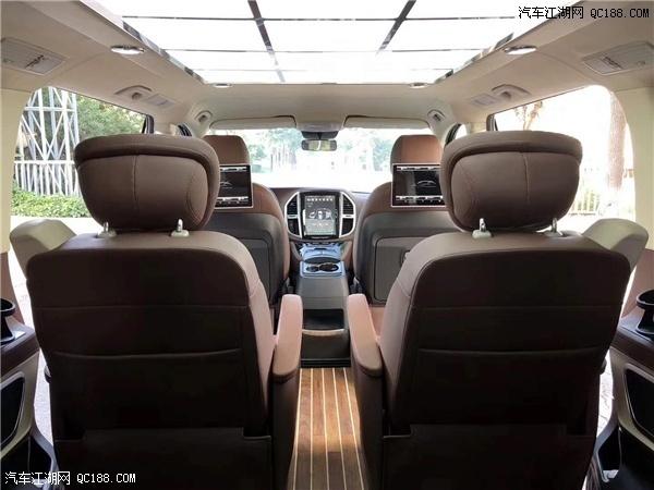 19款奔驰麦特斯2.0T高顶MPV商务车评测