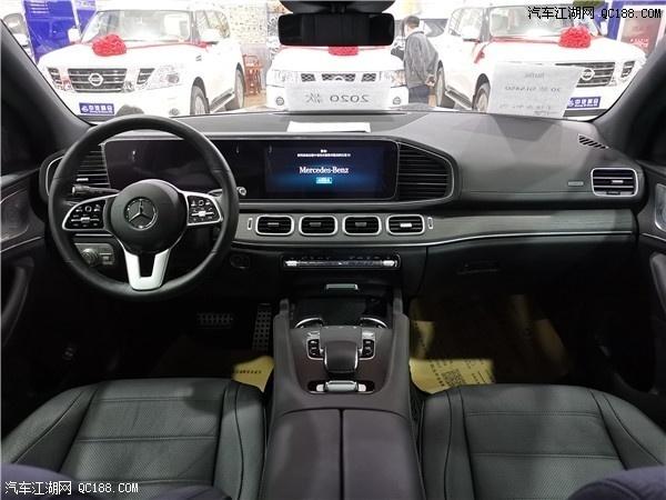 20款奔驰GLS450七座旗舰豪华SUV实车图