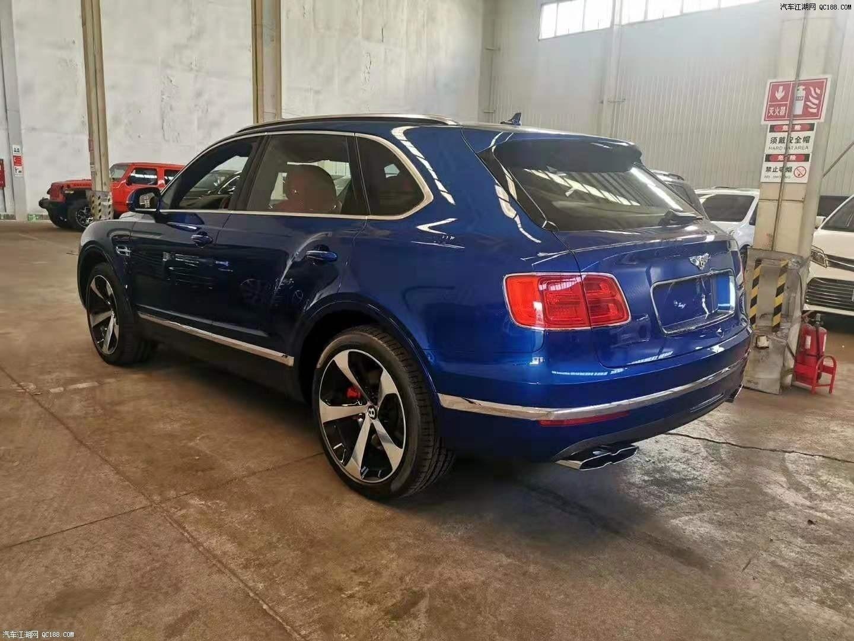 20款宾利添越大型超豪华SUV欧规版报价