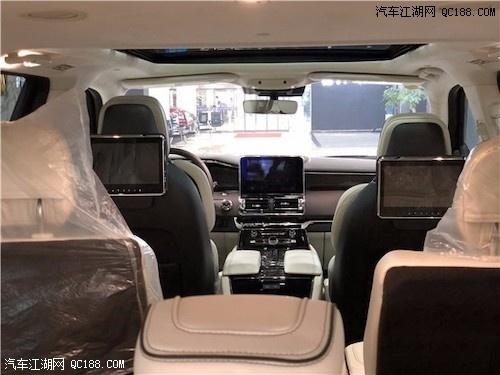 2019款林肯领航员豪华全尺寸SUV实拍