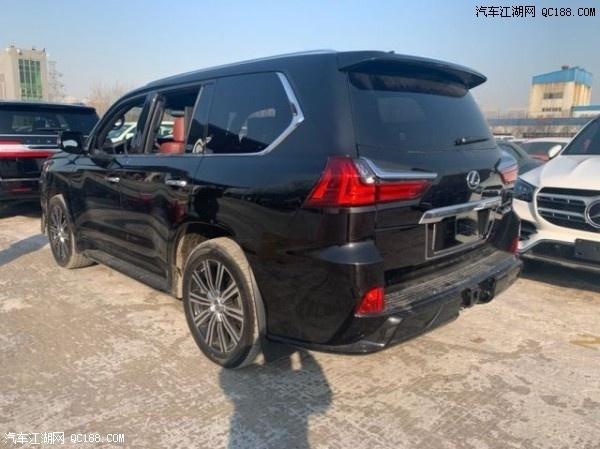2020款雷克萨斯LX570实拍 搭载367匹马力