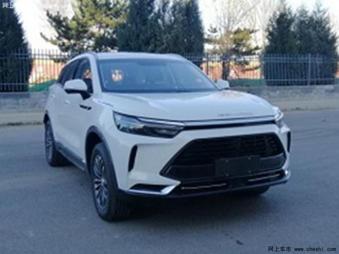 BEIJING X7实拍图曝光 新车将于6月上市