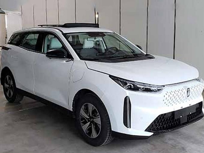 全新纯电SUV奔腾实拍 4月北京车展预售