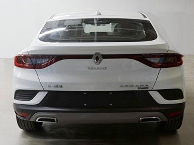 东风雷诺全新轿跑SUV车型ARKANA实拍图