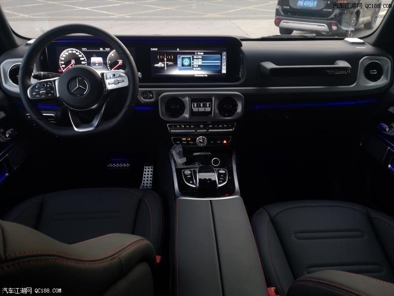 全新19款原装进口墨版奔驰G350实车报价