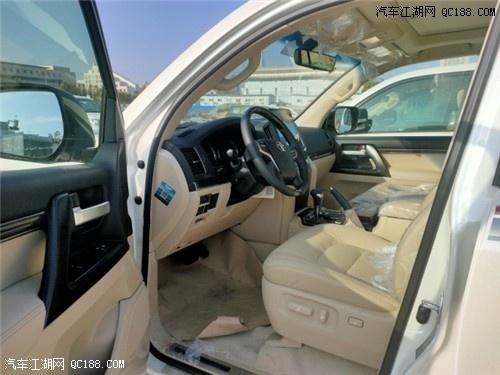 原装进口2020款丰田酷路泽4000 价格解读