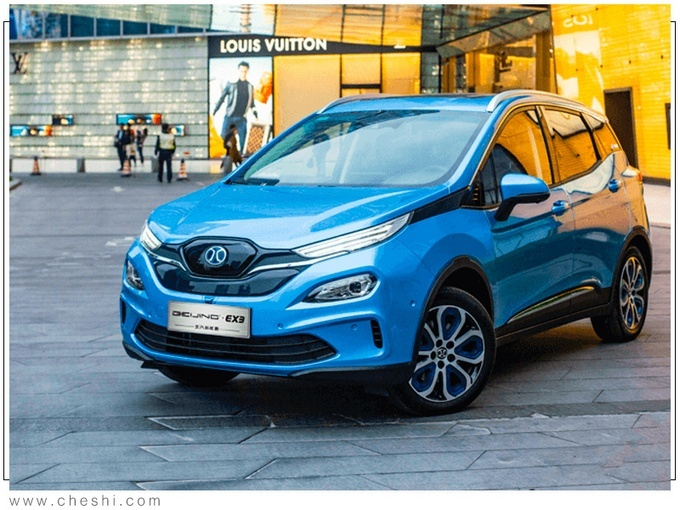 2021-2022年 北汽新能源��m推出3款SUV