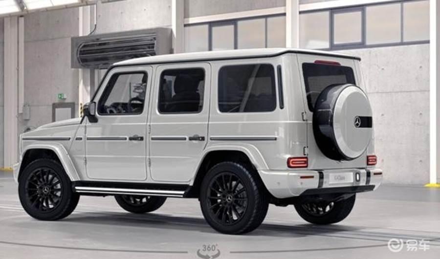 2020款奔�YG400d 40周年限量版最新��r