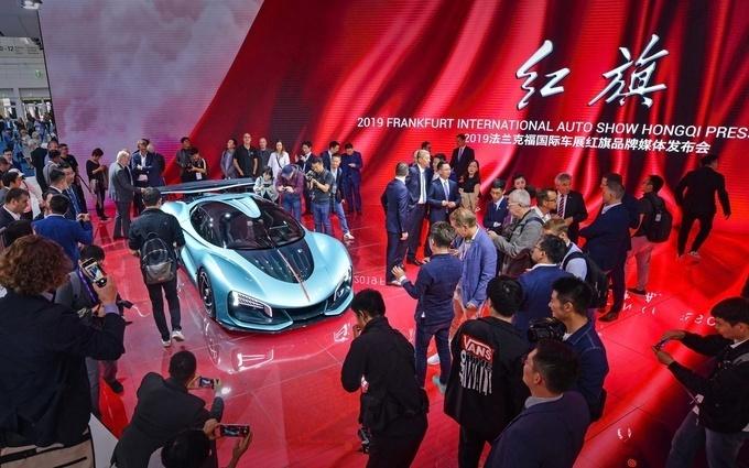 2月一汽红旗销量3752辆 同比增长32.5%