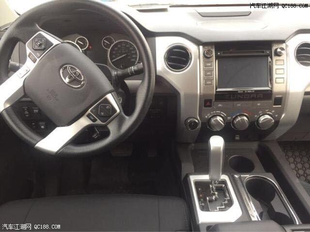 20款丰田坦途SR5版大皮卡配置性能解析