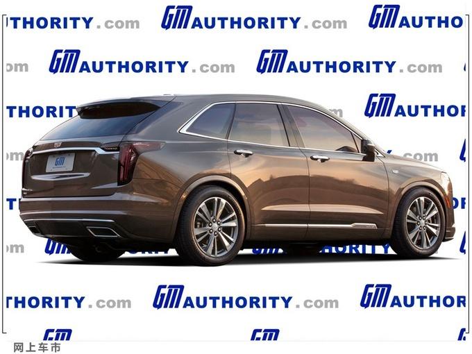 凯迪拉克全新XT6 Coupe车型渲染图曝光