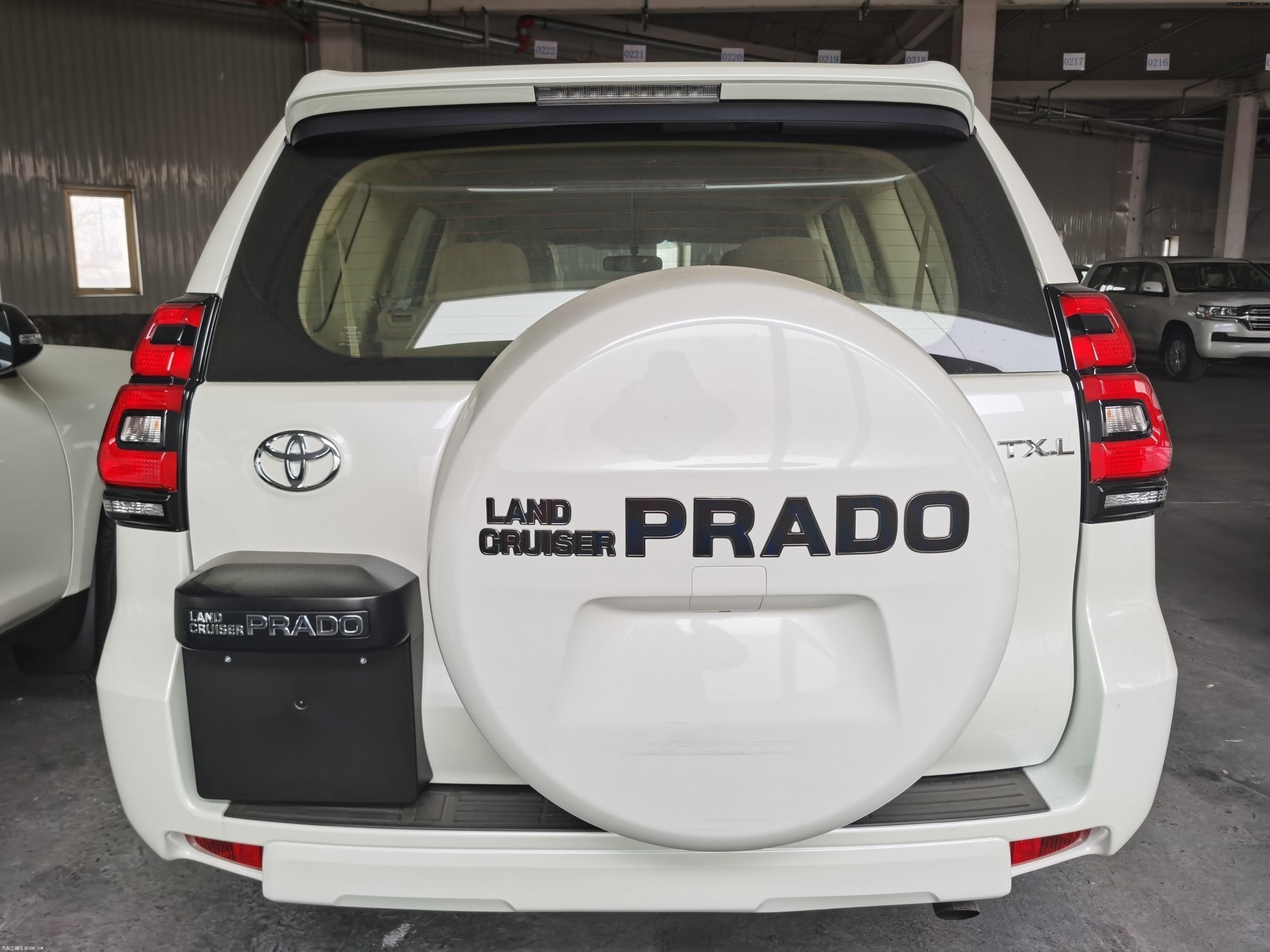 平行进口2020款丰田霸道4000结构 配置评测解析汽车