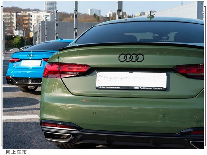 奥迪新款A5海外实拍图 8月正式引入国内