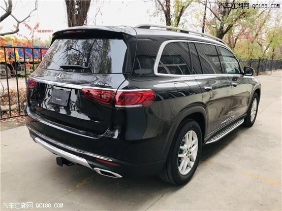 2020款美规新款奔驰GLS450黑色现车行情