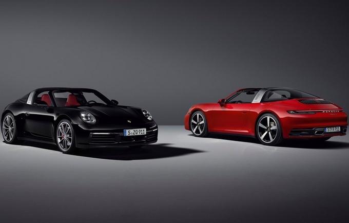 保时捷911 Targa 4与911 Targa 4S发布