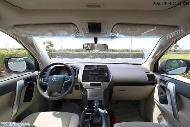 2020款中东版进口丰田霸道4000现车评测