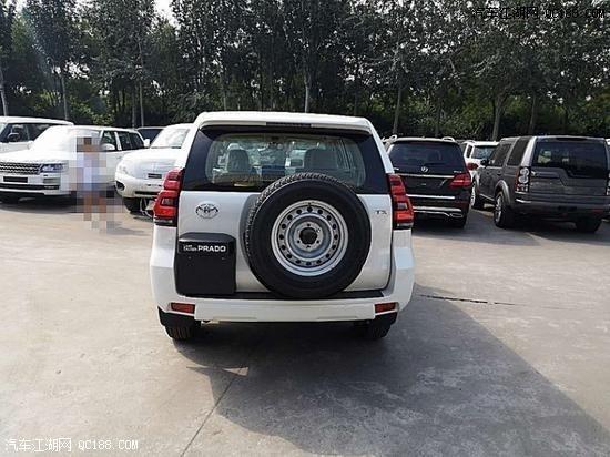 2019款进口丰田霸道2700中东版实车解析
