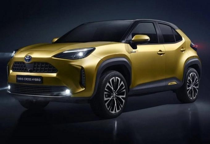 雷克萨斯新小型SUV谍照 2022年海外亮相