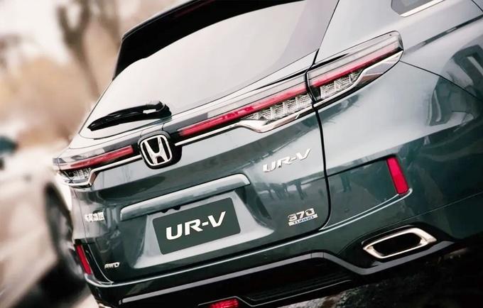 东风本田新款UR-V曝光 将于6月正式上市
