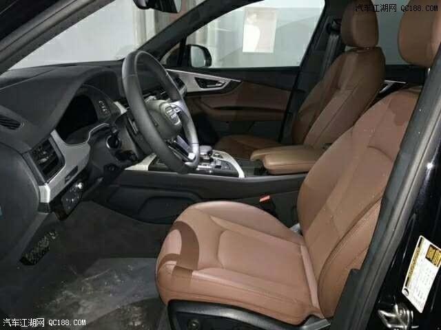 全新奥迪Q7美规版现车体验 科技感出众