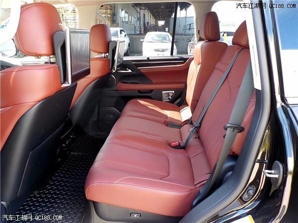 2020款加版雷克萨斯LX570新车试驾体验